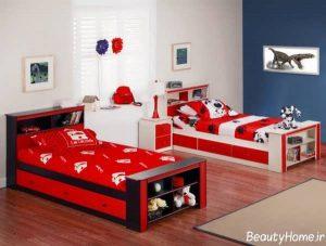 طراحی مدرن و شیک اتاق خواب دخترانه