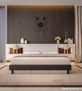 طراحی خلاقانه دیوار اتاق خواب