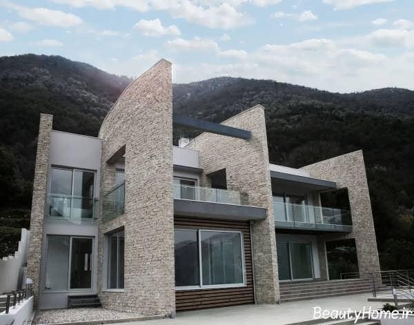 نمای زیبا و جدید ساختمان