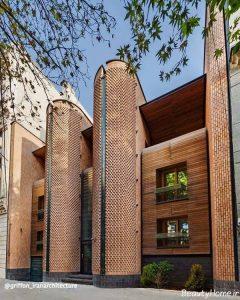 طراحی نمای ساختمان با کمک آجر