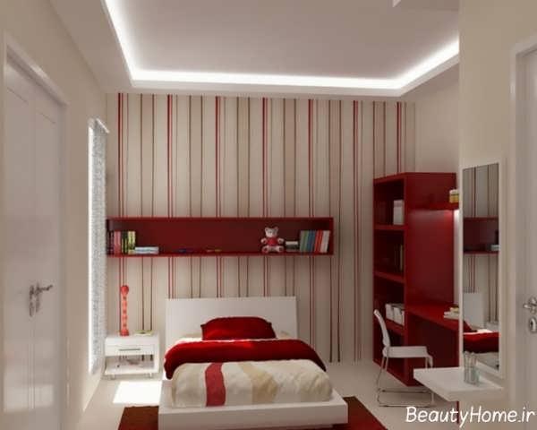 دکوراسیون داخلی زرشکی برای اتاق خواب کودک