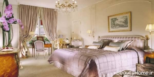 فنگ شویی در اتاق خواب با دکوراسیون سلطنتی