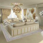 طراحی دکوراسیون طلایی برای خانه های مدرن و لوکس