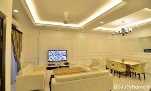 طراحی دکوراسیون داخلی طلایی برای قسمت های مختلف منزل