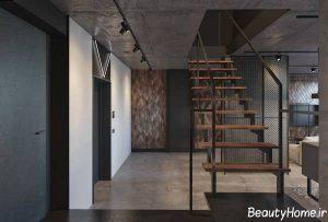 مدل راه پله ساختمان