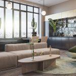 دکوراسیون داخلی خانه ای متفاوت و خشن با سبک اروپایی