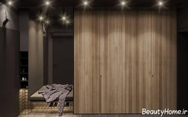 طراحی دکوراسیون زیبا و شیک خانه با تم اروپایی