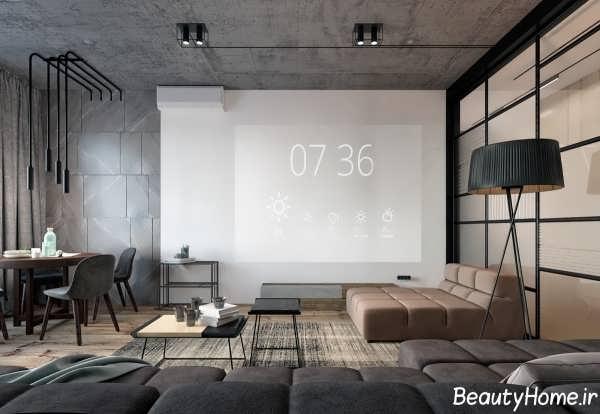 طراحی دکوراسیون آپارتمان با سبک اروپایی