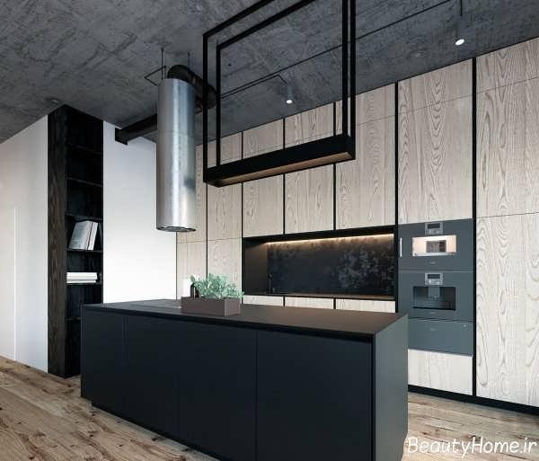 طراحی دکوراسیون شیک و بی نظیر آشپزخانه
