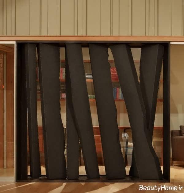 پارتشین چوبی منزل