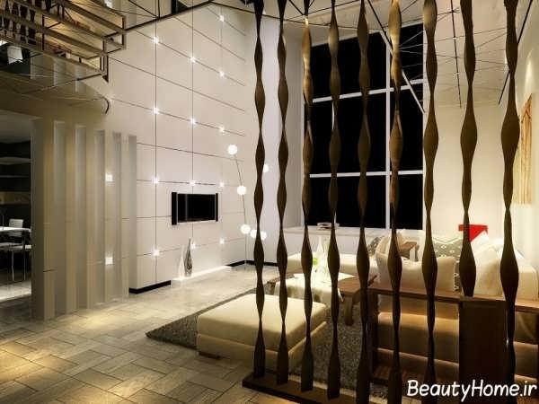 مدل پارتیشن خانه با طرح جذاب