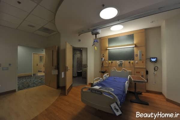 دکوراسیون داخلی بیمارستان شیک و زیبا
