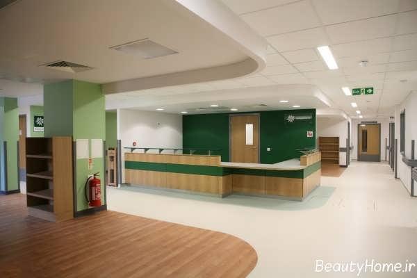 دکوراسیون داخلی قسمت های مختلف بیمارستان