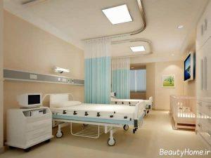 طراحی مدرن و جذاب دکوراسیون بیمارستان