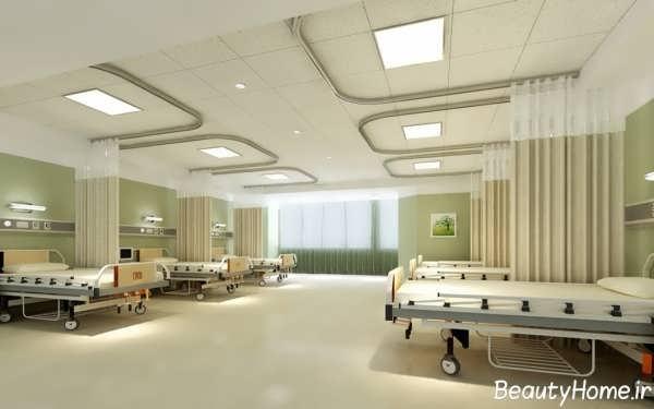 طراحی دکوراسیون داخلی بیمارستان های مدرن و بسیار زیبا