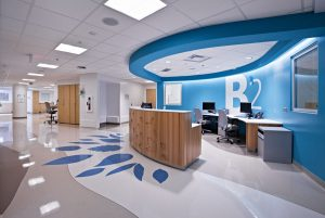 طراحی دکوراسیون داخلی بیمارستان