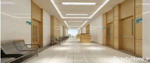 دکوراسیون زیبا و جذاب بیمارستان