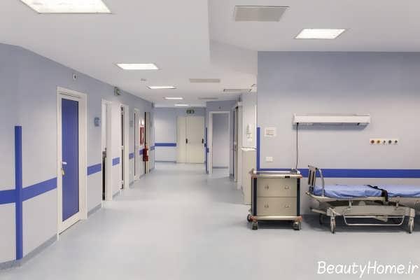 طراحی دکوراسیون بخش های مختلف بیمارستان