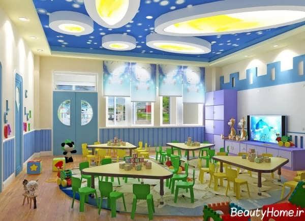 دکوراسیون داخلی مهد کودک با طراحی کاربردی و جدید