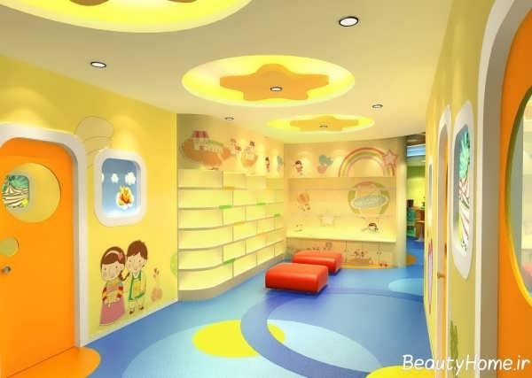دکوراسیون داخلی مهد کودک با طراحی زیبا