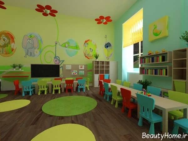 دکوراسیون مهد کودک با طراحی شیک