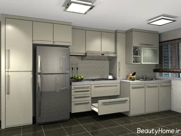 طرح کابینت آشپزخانه مدرن