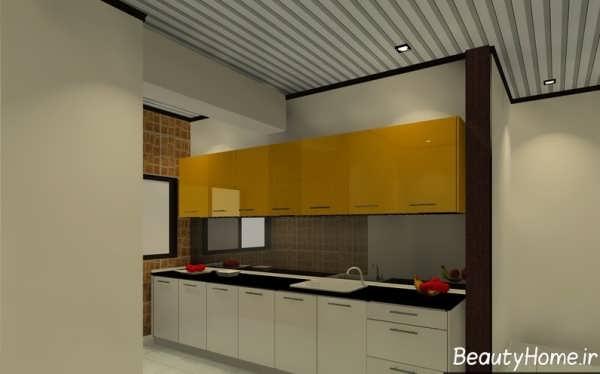 طرح کابینت آشپزخانه کوچک