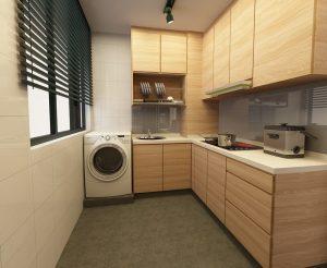 طرح کابینت آشپزخانه برای آشپزخانه های بزرگ و کوچک
