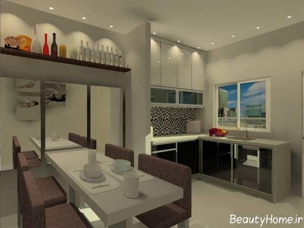 مدل کابینت زیبا آشپزخانه