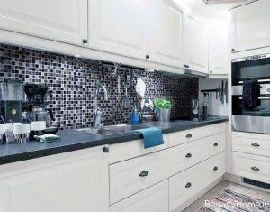 مدل کاشی مدرن و جدید آشپزخانه