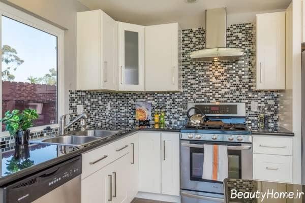 مدل کاشی زیبا و جذاب آشپزخانه