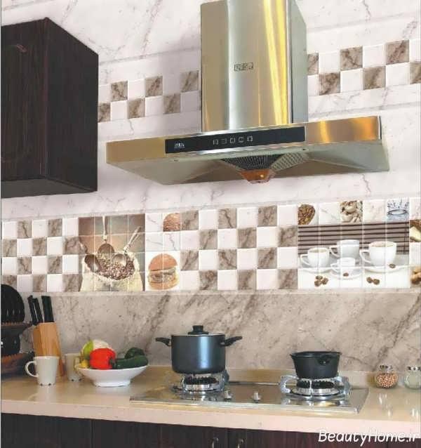 مدل کاشی آشپزخانه با انواع طرح های جدید و مدرن