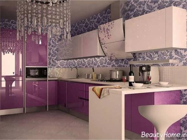 مدل کاشی طرح دار آشپزخانه