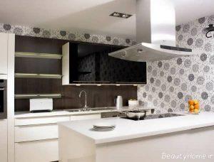 کاشی آشپزخانه با طرح زیبا و متفاوت