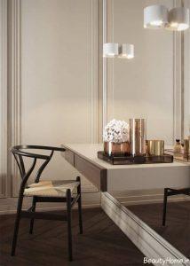طراحی نورپردازی مدرن و شیک برای آپارتمان دو خوابه