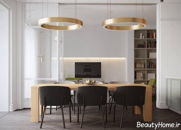 طراحی نورپردازی سالن غذاخوری