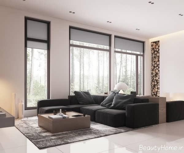 طراحی دکوراسیون داخلی اتاق نشیمن
