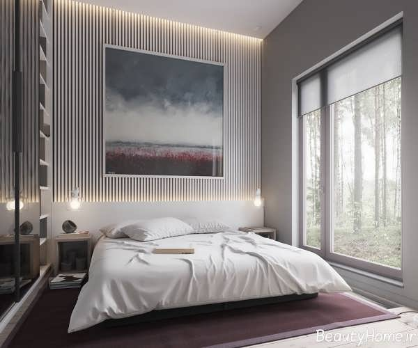 طراحی دکوراسیون اتاق خواب با سبک ساده