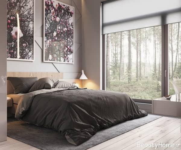 دکوراسیون داخلی اتاق خواب با طراحی ساده