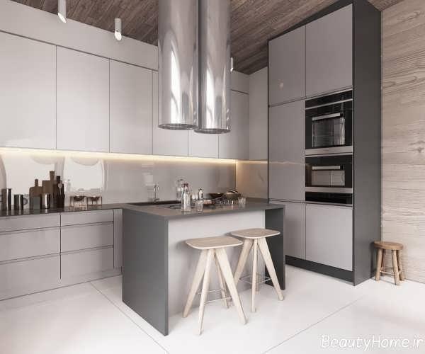 دکوراسیون داخلی آشپزخانه با سبک ساده