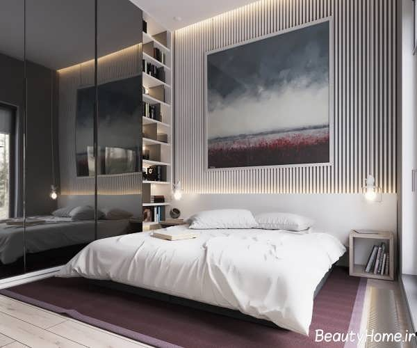 طراحی دکوراسیون اتاق خواب با سبک مینیمال