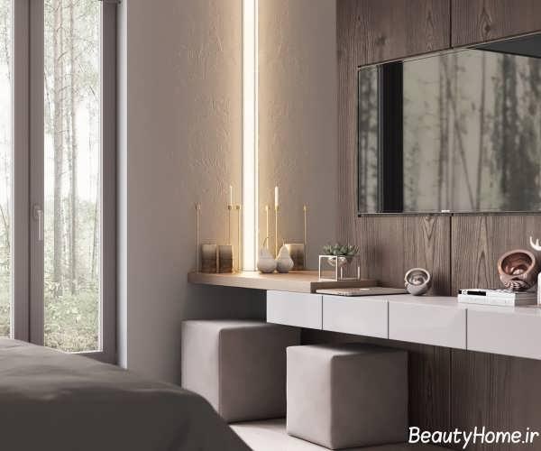 طراحی زیبا و متفاوت اتاق خواب