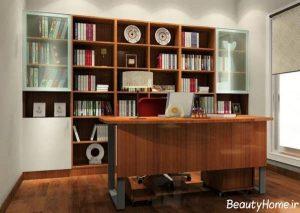 مدل های کتابخانه دیواری