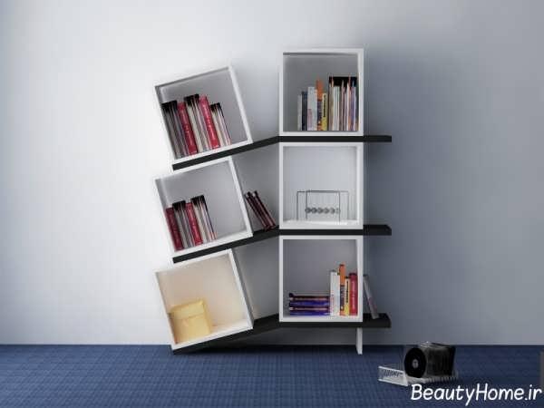 مدل های زیبا و شیک کتابخانه دیواری