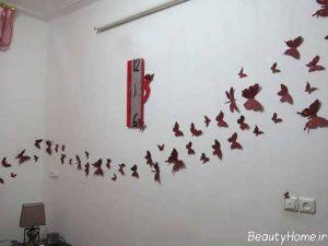 ایده هایی برای تزیین دیوار اتاق خواب
