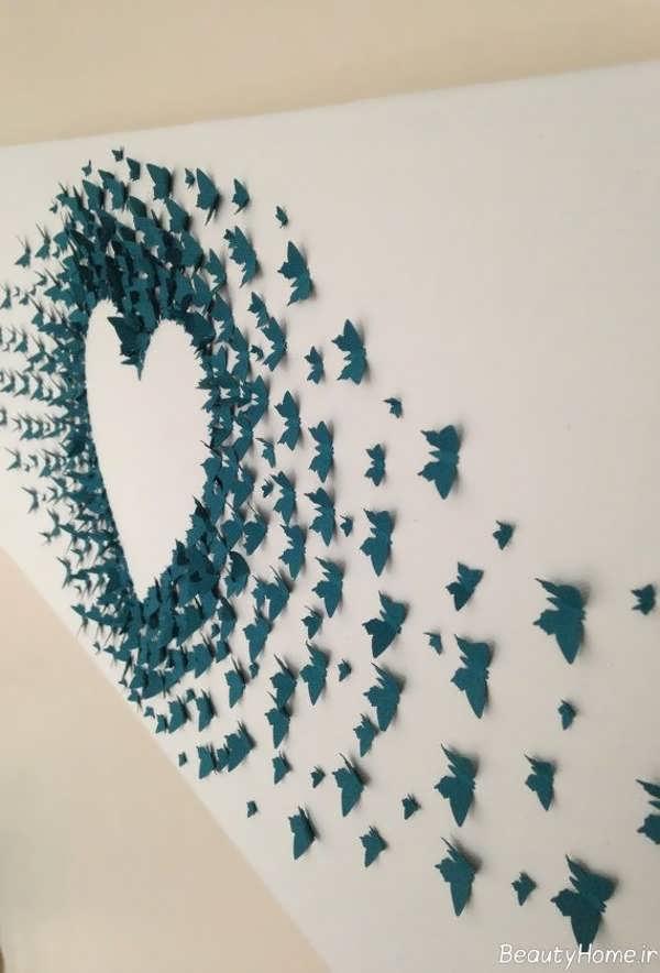 تزیین دیوار با کاغذ رنگی و طرح های خلاقانه ای که باید ببینید ...