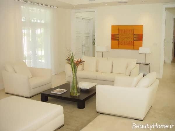 طراحی اتاق نشیمن زیبا و متفاوت