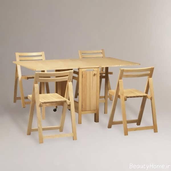 میز ناهار خوری تاشو