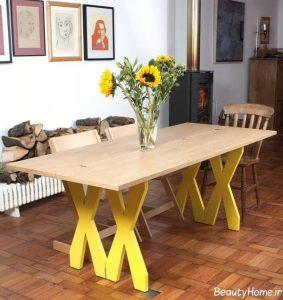 انواع مدل های کاربردی و مدرن میز ناهار خوری