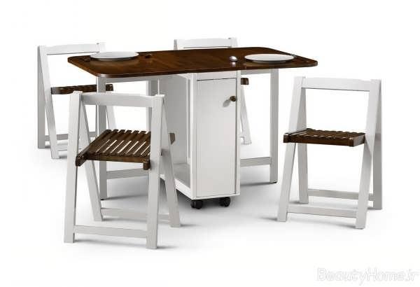 انواع مدل های شیک میز ناهار خوری